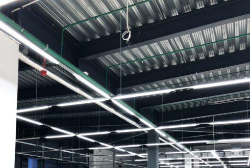 Монтаж осветительного оборудования