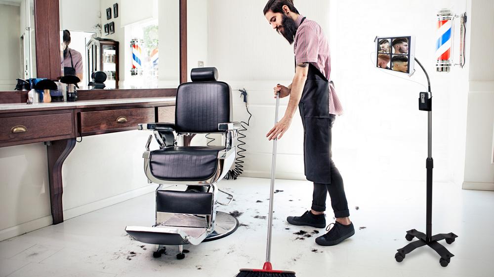 Уборка в парикмахерской, салонах красоты и барбершопах